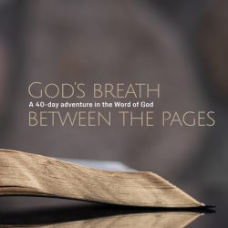 1. God's breath between the pages